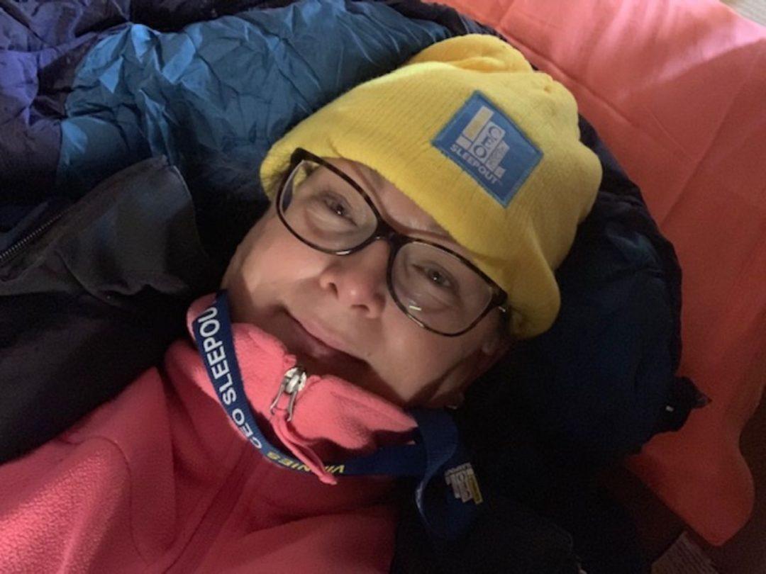 CEO Sleepout Vinnies
